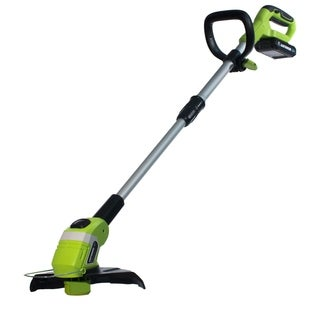 Earthwise 10- Inch Cordless Lithium 20 Volt String Trimmer