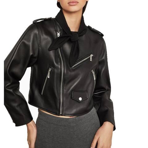 BCBGMAXAZRIA Aubree Leather Jacket