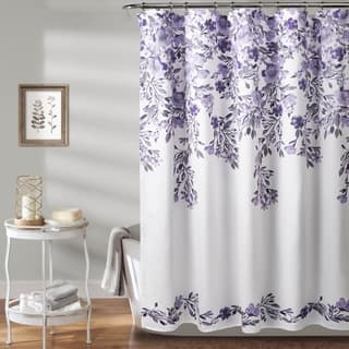 Purple Shower Curtains Online At Our Best Accessories Deals Vibrant Fabric Bath