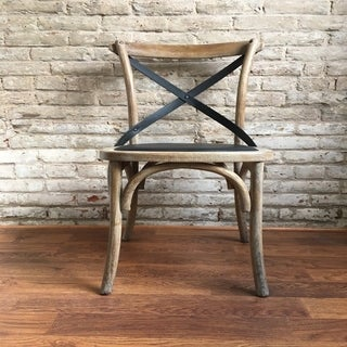 Lyndsay Cross Back Dining Chair (Set Of 2)