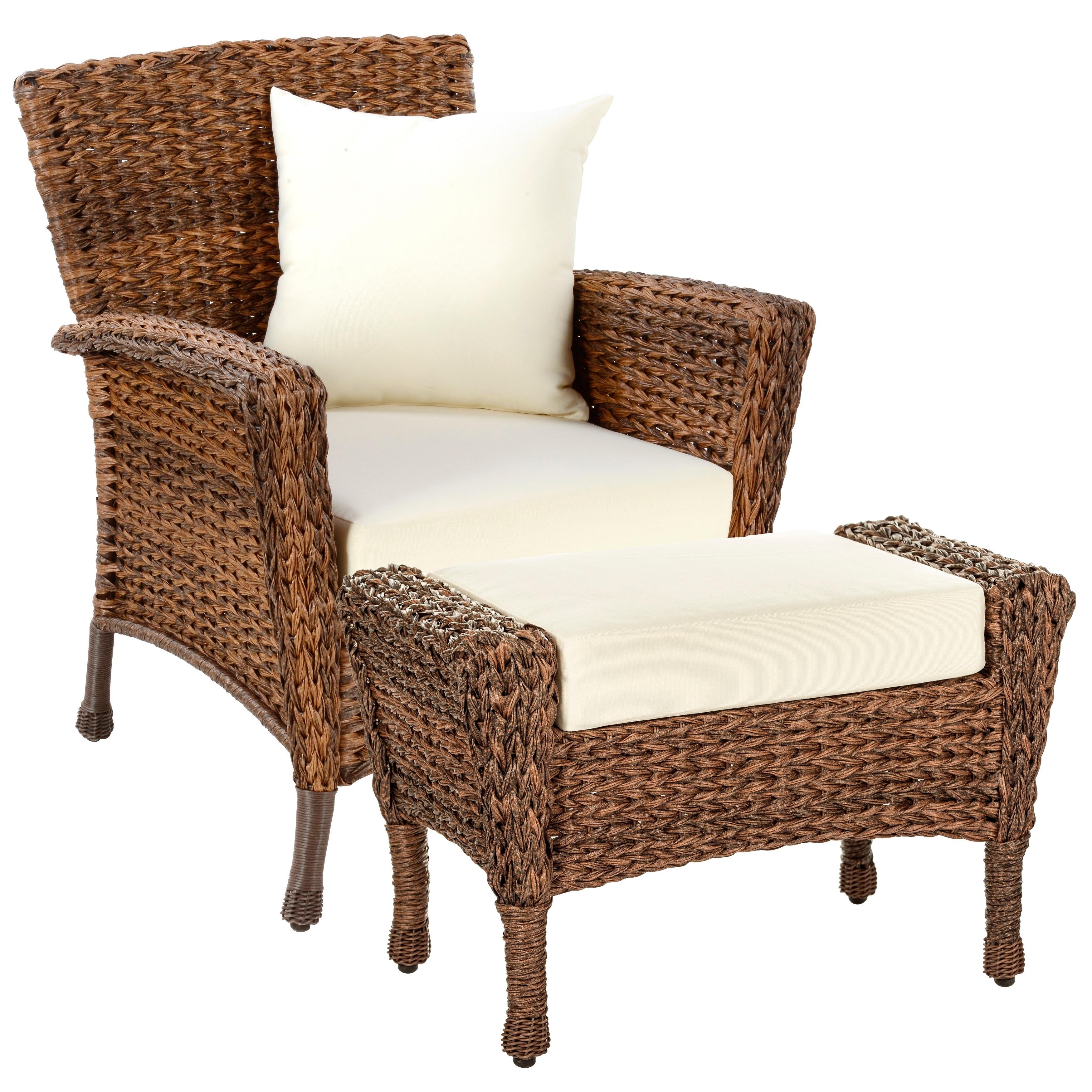 Faux Sea Gr Garden Patio Chair