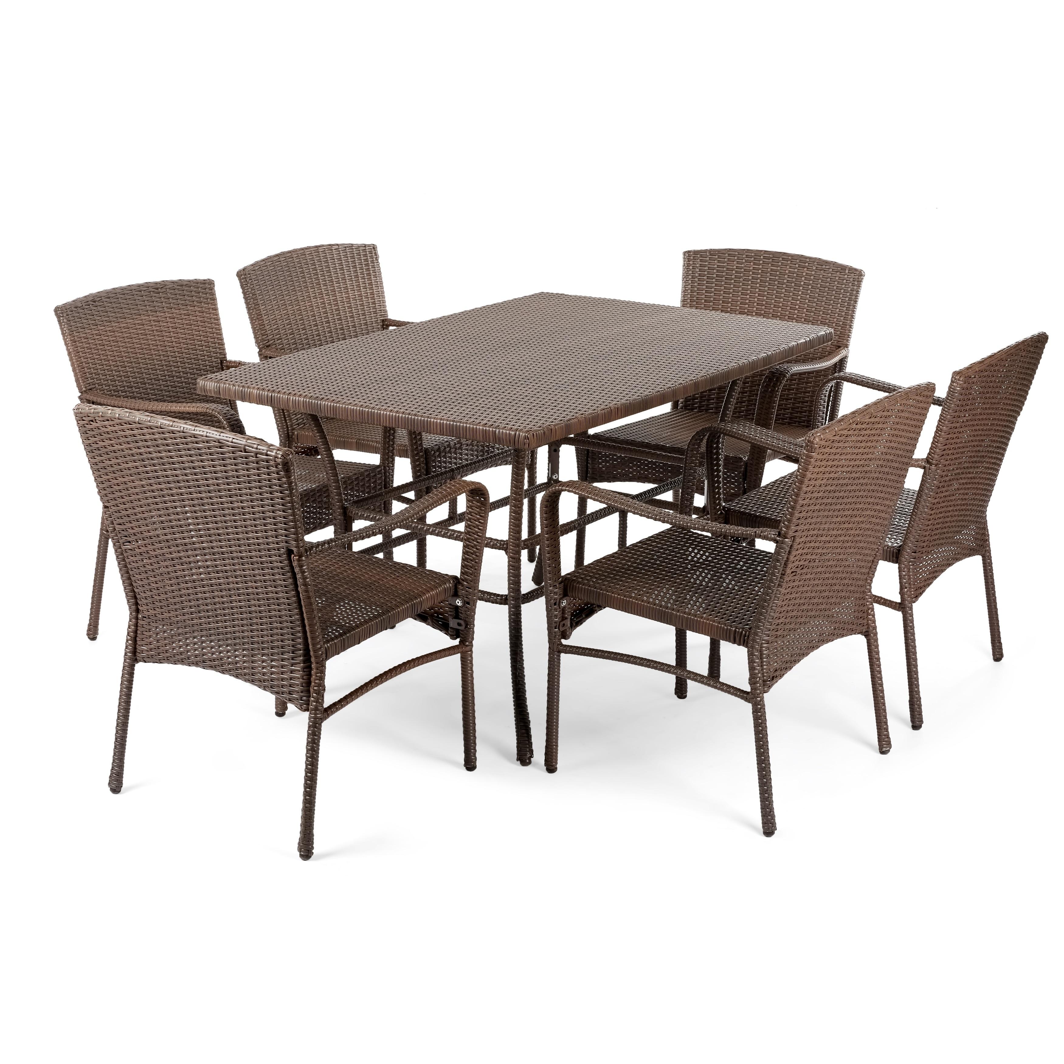 Outdoor Garden Patio Furniture 7pc