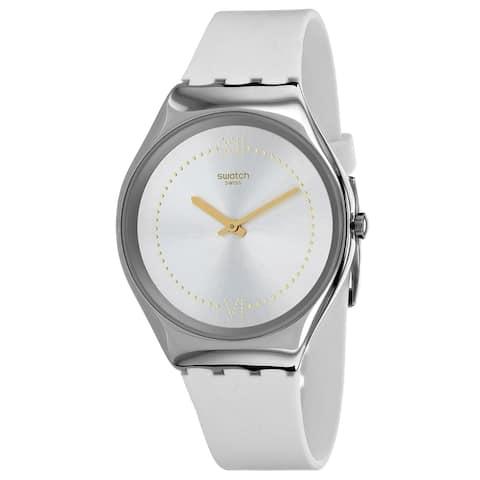 Swatch Men's SYXS108 'Skindoree' Silicone Watch