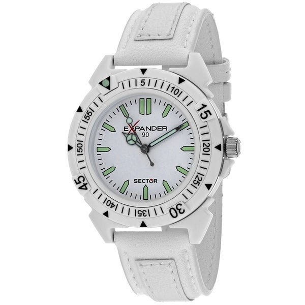 Sector Men's Expander White Dial Watch - 3251197045. Opens flyout.