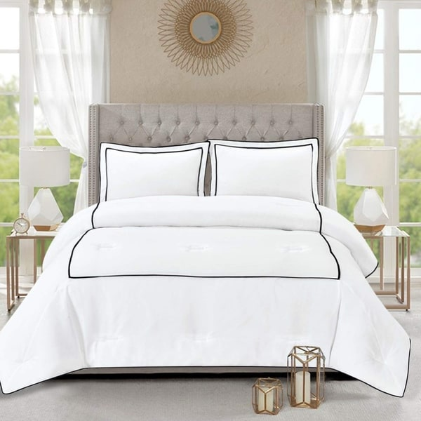 Honeymoon Home Fashions Hotel Collection Comforter Set