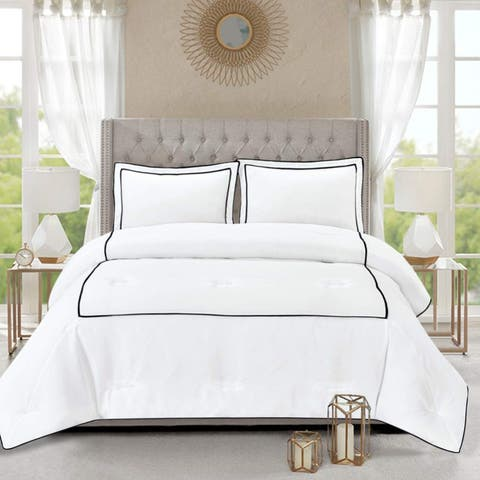 Honeymoon Home Fashions Hotel Collection Comforter Set