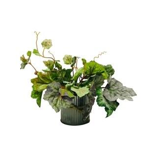 Farmhouse foliage arrangement