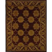 Safavieh Handmade Heritage Timeless Traditional Red Wool Rug - 6' x 9'