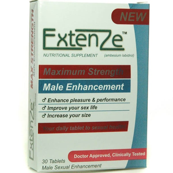 Shop Extenze Male Enhancement Formula Free Shipping On Orders Over