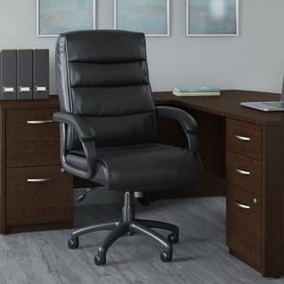 Bush Business Soft Sense High Back Leather Executive Office Chair