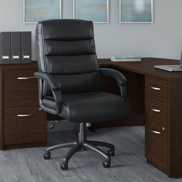 Bush Business Soft Sense High Back Leather Executive Office Chair