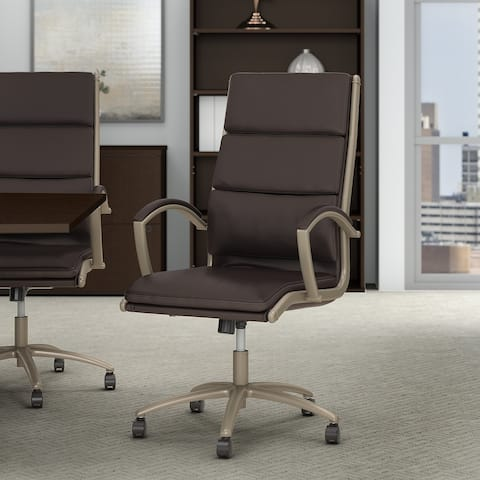 Bush Business Modelo High Back Leather Executive Office Chair