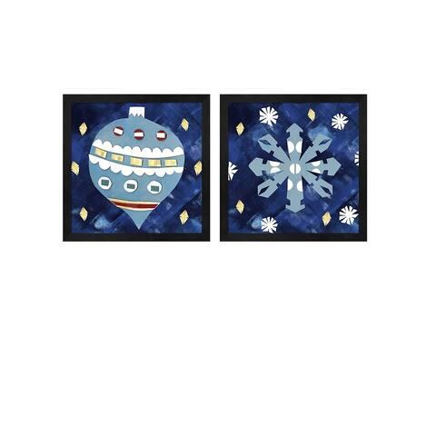 Summer Tali Hilty 'Holiday' Framed Art (Set of 2)