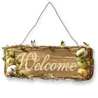 """21"""" Easter Welcome Sign"""