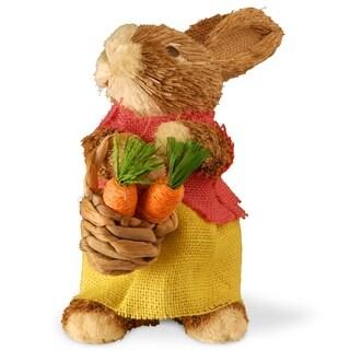 "9.6"" Dainty Brown Bunny"
