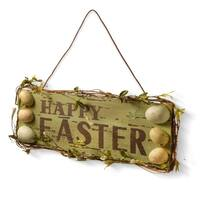 """21"""" Happy Easter Sign"""
