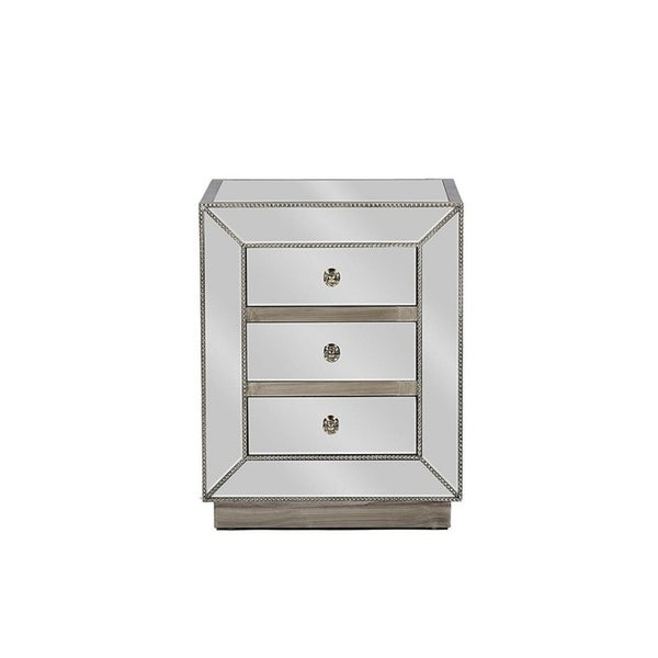 Maguire 3 Drawer Nightstand (Set Of 2)