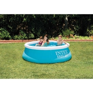 Intex 232 gal. Round Above Ground Pool 20 in. H x 72 in. W