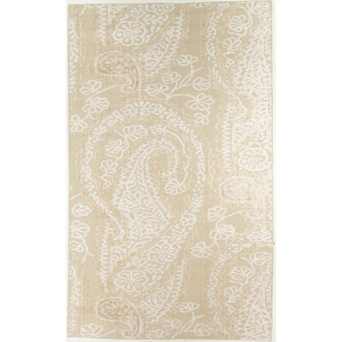 Modern Hand-Knotted Rug - 5' x 8'2""