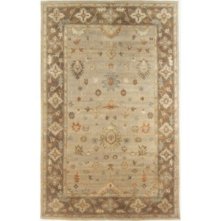 "Modern Hand-Knotted Rug - 5'5"" x 8'6"""