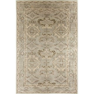 """Modern Hand-Knotted Rug - 5'6"""" x 8'4"""""""