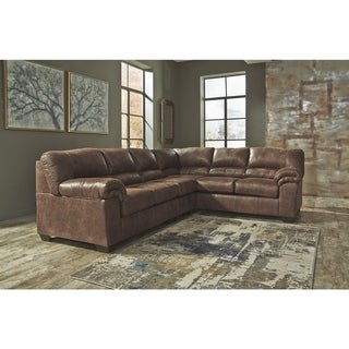 Bladen 3-Piece Sectional with Sofa - Coffee