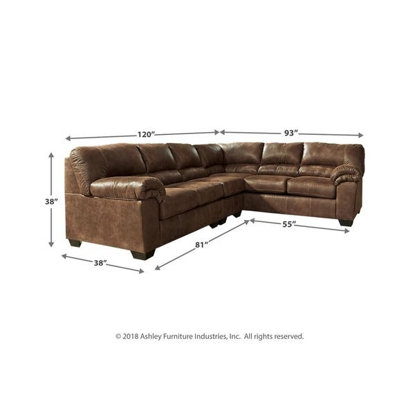 Astounding Shop Bladen 3 Piece Sectional With Sofa Coffee On Sale Pabps2019 Chair Design Images Pabps2019Com