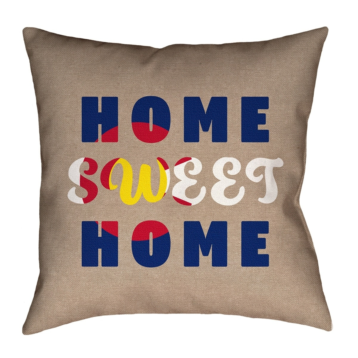 Shop Katelyn Smith Home Sweet Colorado Pillow Spun Polyester Free Shipping On Orders Over 45 Overstock 26515107