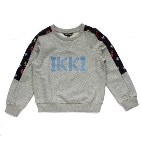 Island Kids Boys Long Sleeve Crew Neck Pullover Cotton Knit Sweater