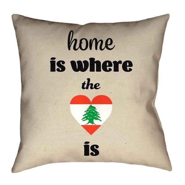 Katelyn Smith Lebanon Love Floor Pillow. Opens flyout.
