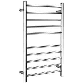 ANZZI Bali 10-Bar Stainless Steel Wall Mounted Towel Warmer in Polished Chrome