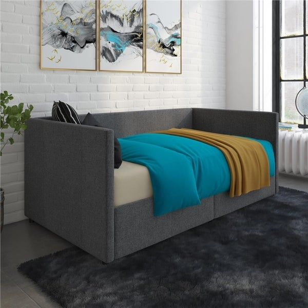 Avenue Greene Nolan Urban Upholstered Daybed with Storage. Opens flyout.