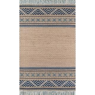 Momeni Esme Wool and Cotton Hand Made Blue Area Rug