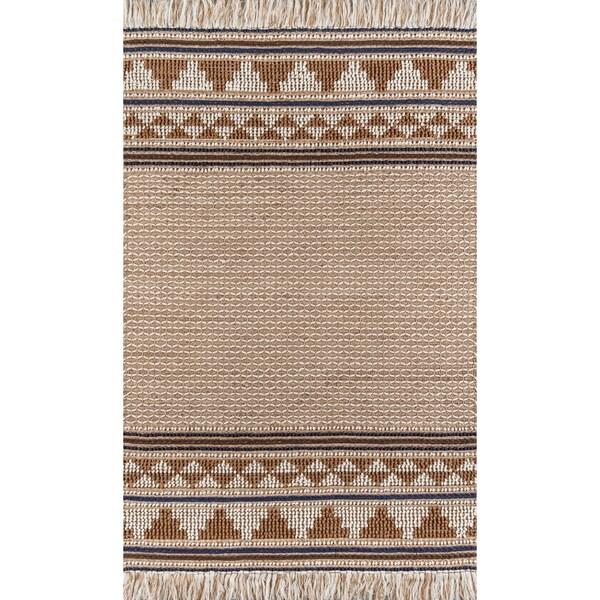 Momeni Esme Wool and Cotton Hand Made Ivory Area Rug