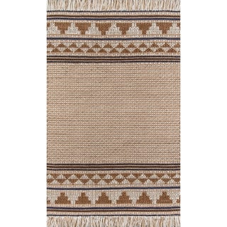 Momeni Esme Wool and Cotton Hand Made Ivory Area Rug