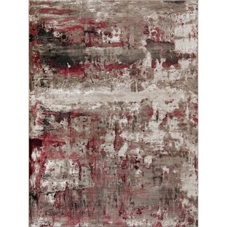 Porch & Den Howell Red Area Rug