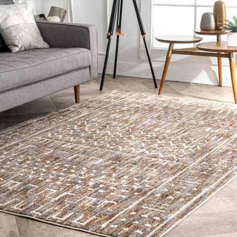 Carson Carrington Carrowdore Transitional Aztec Print Area Rug