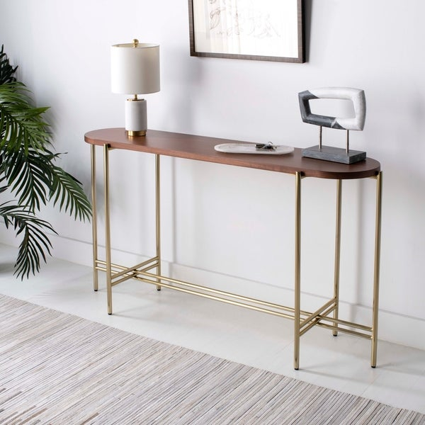 Sofa Tables On Sale: Shop Safavieh Couture Cassie Large Console Table