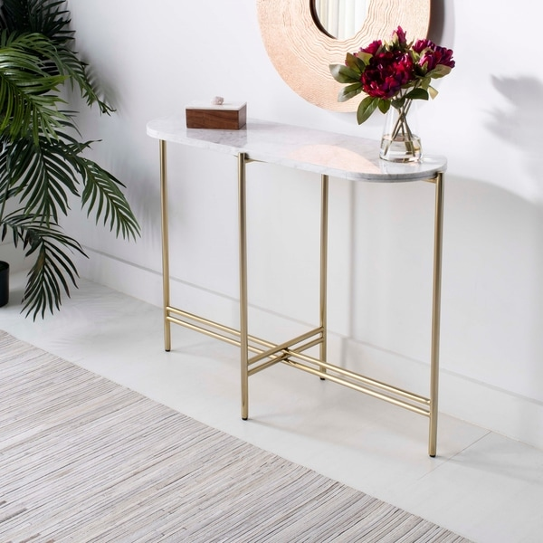 Shop Safavieh Couture Cassie Small Console Table