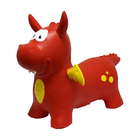 JumPets Bouncer - Dexter the Dragon (Red)