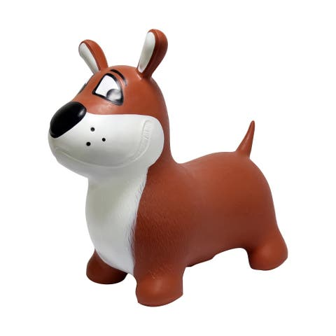 JumPets Bouncer - Buster the Dog (Brown)