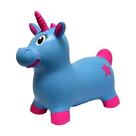 JumPets Bouncer - Luna the Unicorn (Blue)