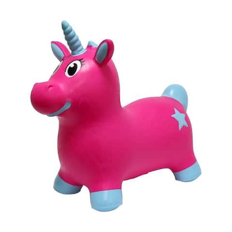 JumPets Bouncer - Luna the Unicorn (Pink)