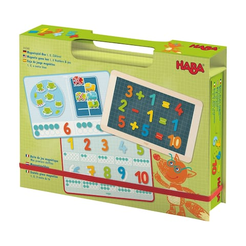Magnetic Game Box - 1, 2 Numbers & You