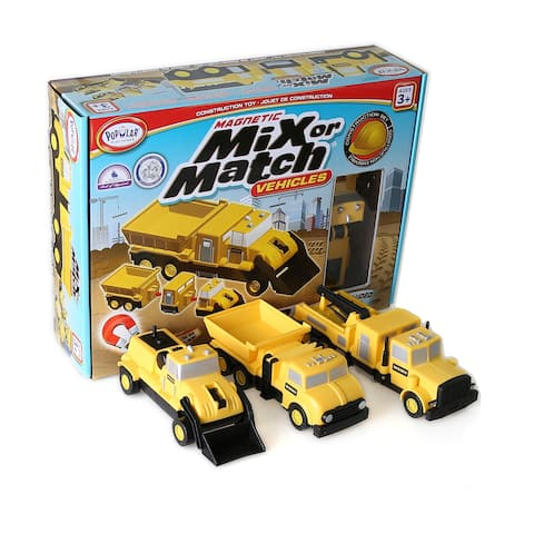 Magnetic Mix or Match Vehicles: Construction