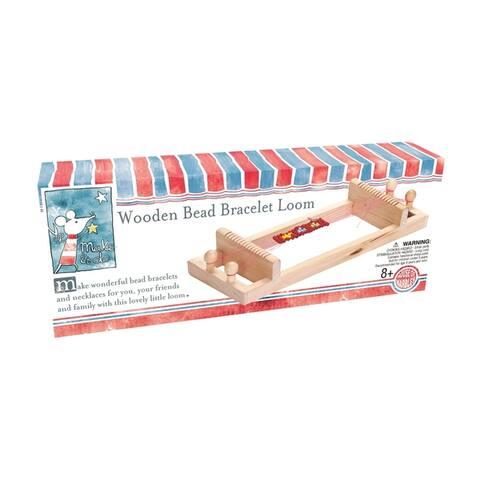 Wooden Bead Bracelet Loom