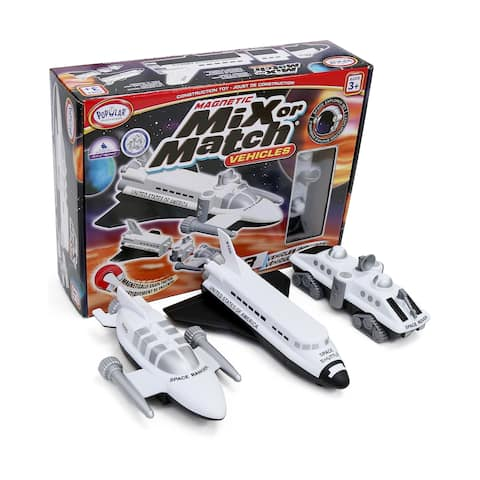Magnetic Mix or Match Vehicles: Space