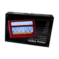 Portable Color Touch-Screen 7-in-1 Video Poker