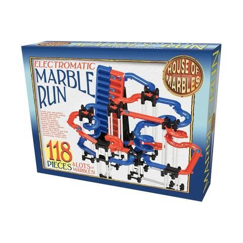 Electromatic Marble Run: 118 Pcs
