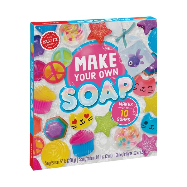 Make Your Own Soap. Opens flyout.
